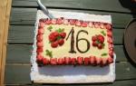 16. dzimšanas diena