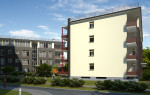 Daudzdzīvokļu ēku jaunbūves Ķīpsalas ielā 4, Rīgā