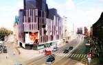 Daudzfunkciju ēkas rekonstrukcija un jaunbūve Miera ielā 2, Rīgā