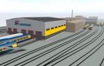 Vagonu depo ražošanas zonas (lit. 002, 003, 005, 006, 007, 008) rekonstrukcija Kalna ielā 68A, Rīgā